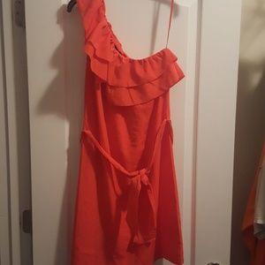Banana Republic Factory one shoulder Dress size 6